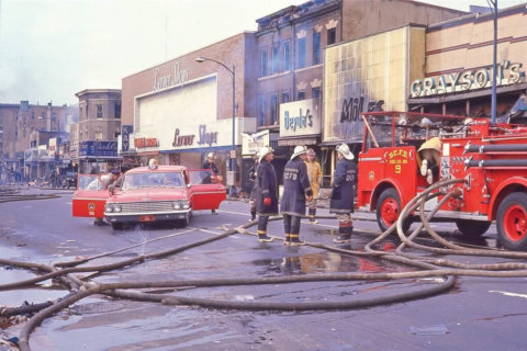 Then & Now: Powerful images show 1968 riot damage and rebuilt DC neighborhoods