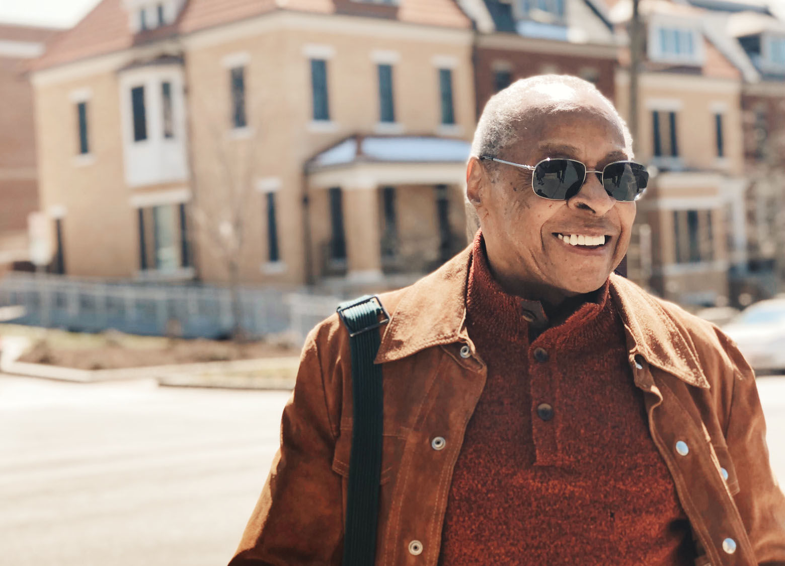 """After his stint at The Star, Paul Delaney's life in Washington took a turn when a new job came calling. He went to work for The New York Times. He worked all over the world and went on to help found the National Association of Black Journalists in 1975. He retired from The Times in the 1990s after nearly 25 years with the paper. """"But here I am: Retired and back in Washington,"""" Delaney said. (WTOP/Omama Altaleb)"""