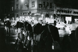 In the 1960s, 14th and U Street was the pulsing center of black life in Washington. So, when the first bricks went through store windows at a People's Drug store there after the assassination of Dr. Martin Luther King, Washington Star reporter Paul Delaney rushed to corner to capture history. On the site of the former People's Drug Store now sits the Frank D. Reeves Municipal Center. Reprinted with permission of the DC Public Library, Star Collection, © Washington Post.