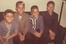 "The Lawson children a few years before Vincent's disappearece amid the unrest during the 1968 riots. Vanessa and Vincent (middle) were ""like two peas in a pod,"" Vanessa Lawson Dixon recalls. (Courtesy Vanessa Lawson Dixon)"