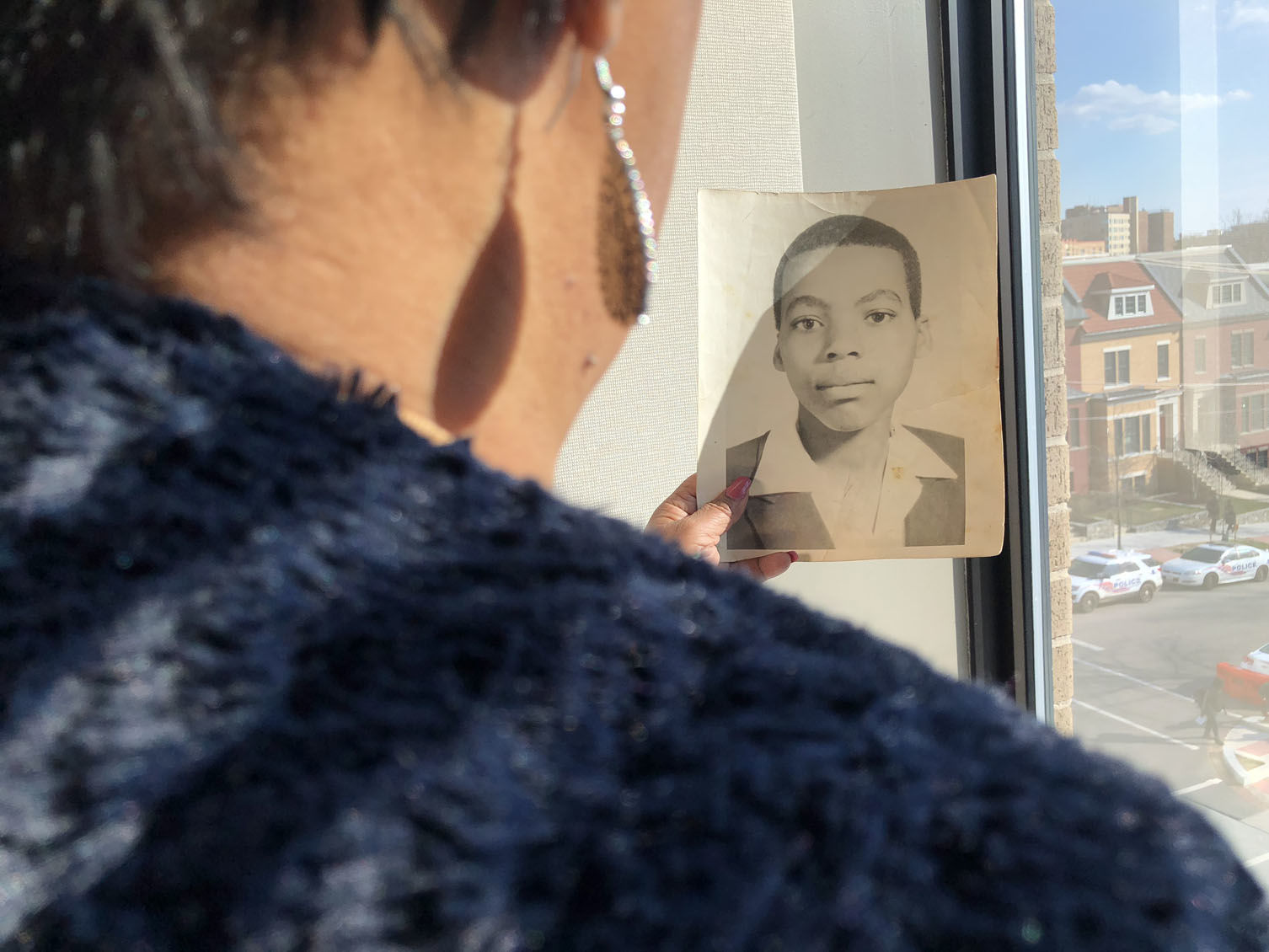 This year, Vanessa Lawson Dixon says she's hoping to give her brother the memorial he never had. (WTOP/Tiffany Arnold)