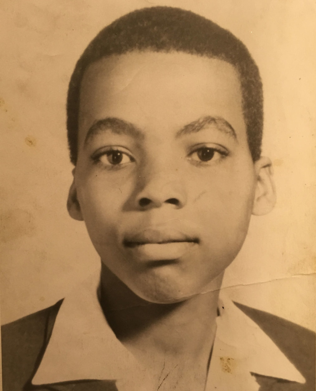 Vincent Lawson's last school portrait before he went missing during the April 1968 riots at age 15. In 1971, construction workers disocvered his remains inside a fire-damaged H Street warehouse that had been boarded up since the riots. (Courtesy Vanessa Lawson Dixon)