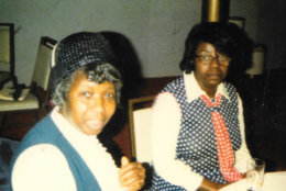 Pastor Hattie Bynum (left) and one of the other church mothers Elizabeth Addo. (Courtesy Chaye Benjamin/Mount Joy Soul Saving Station)