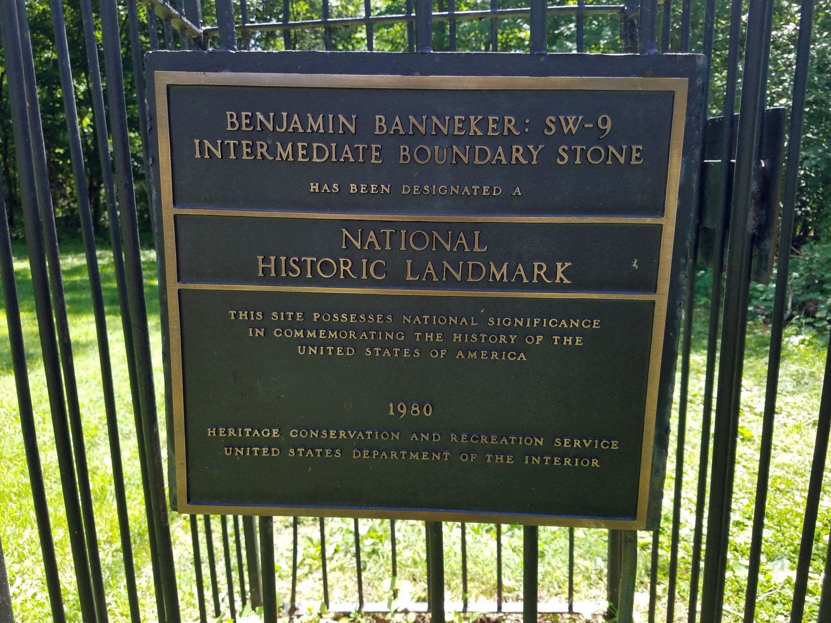 Benjamin Banneker Park in Falls Church, Virginia, is the home of SW9. (WTOP/William Vitka)