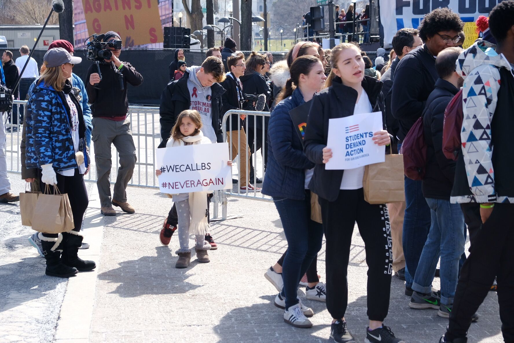 """Crowds at the March for Our Lives rally in D.C. (Courtesy Shannon Finney Photography/<a href=""""https://www.shannonfinneyphotography.com/index"""" target=""""_blank"""" rel=""""noopener noreferrer"""">shannonfinneyphotography.com</a>)"""