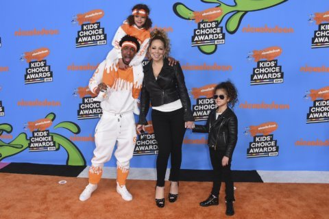 Celebrities at Kids' Choice Awards praise youth marches