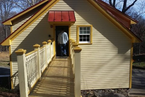 New visitor center at Fort C.F. Smith Park shows Arlington's Civil War history