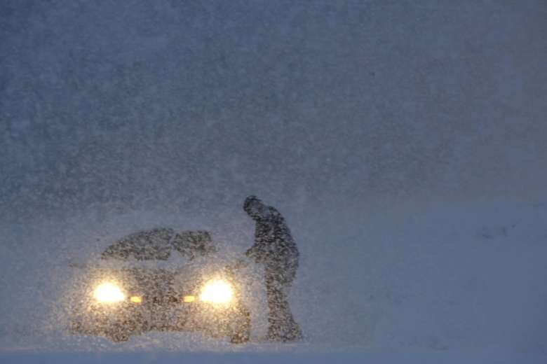 East Coast Storm Dumping Snow, Knocking out Power