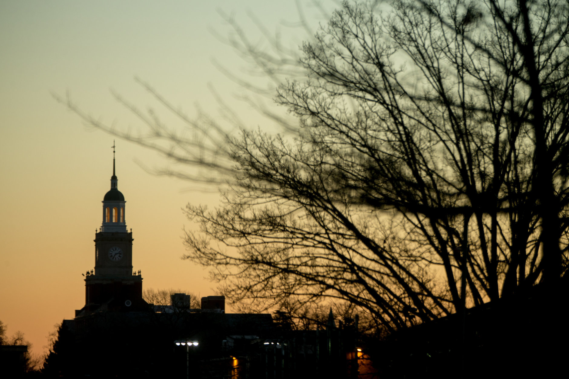 FILE -- The Howard University Campus at sunrise in Washington, Saturday, Dec. 19, 2015. (AP Photo/Andrew Harnik)