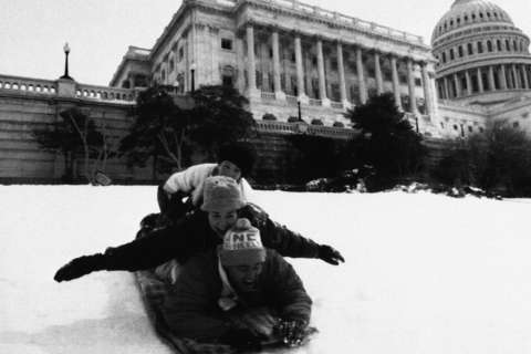 Photos: Huge snowstorm 25 years ago
