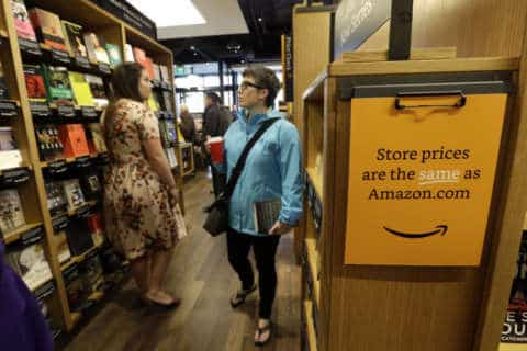 Amazon's 1st DC bookstore opens Tuesday in prime Georgetown location