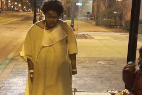 Baltimore hospital cited over woman left in cold in hospital gown