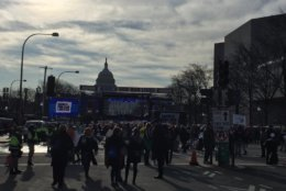 Crowds gather for the D.C. March for Our Lives rally. (WTOP/John Domen)