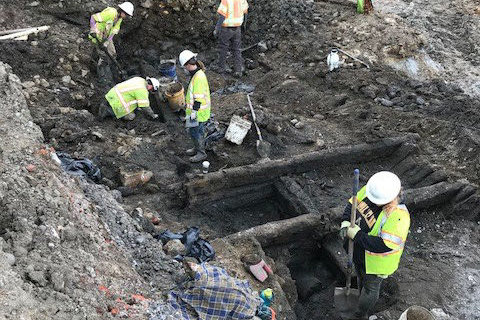 2 more centuries-old ships unearthed in Old Town Alexandria