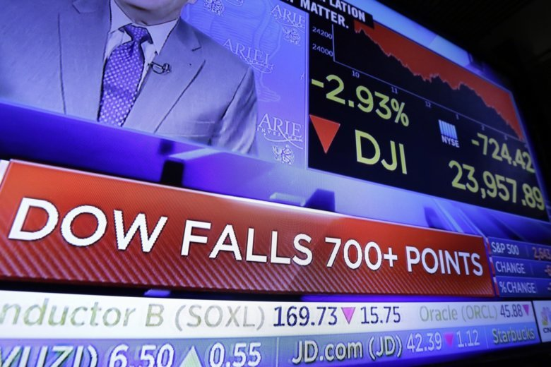 Dow closes down, renewing year's low