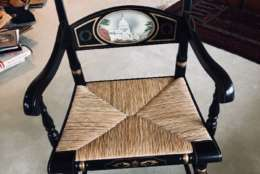 John Glenn's Senate chair, from John Glenn's estate. (Courtesy Greater Washington Estate Services)