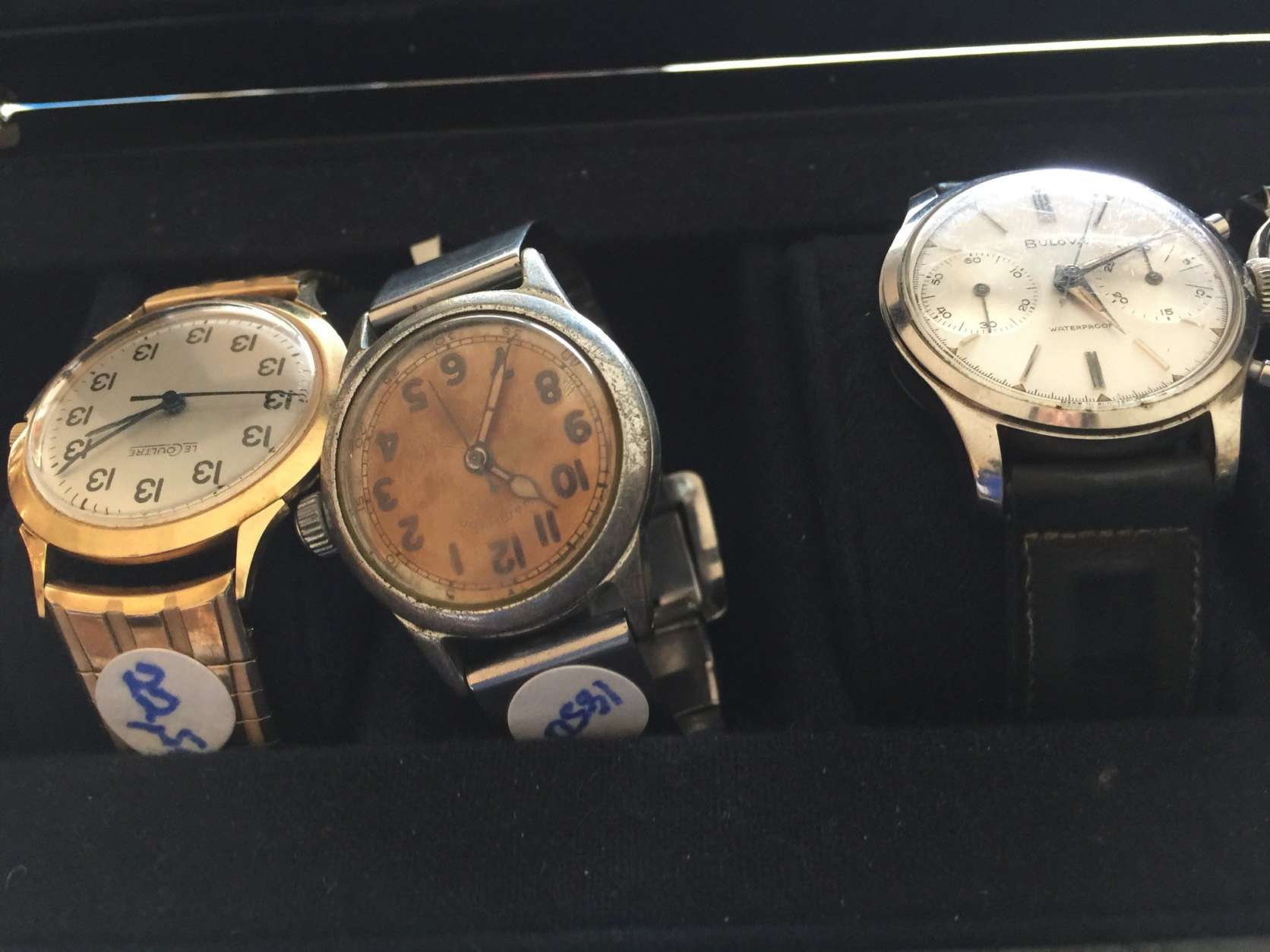 Watches from John Glenn's estate. (WTOP/Kristi King)