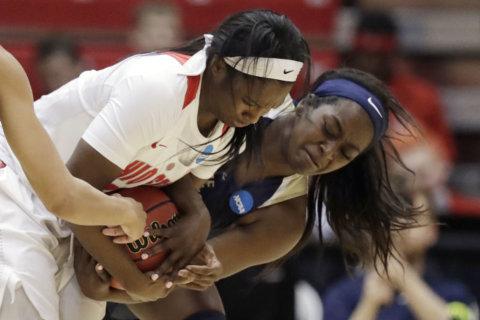 GW women's team falls to Ohio State in NCAA Tournament