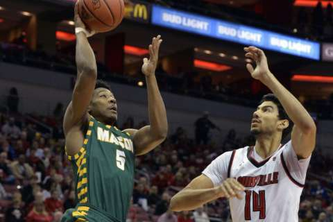 George Mason returns to Final Four floor hoping for more