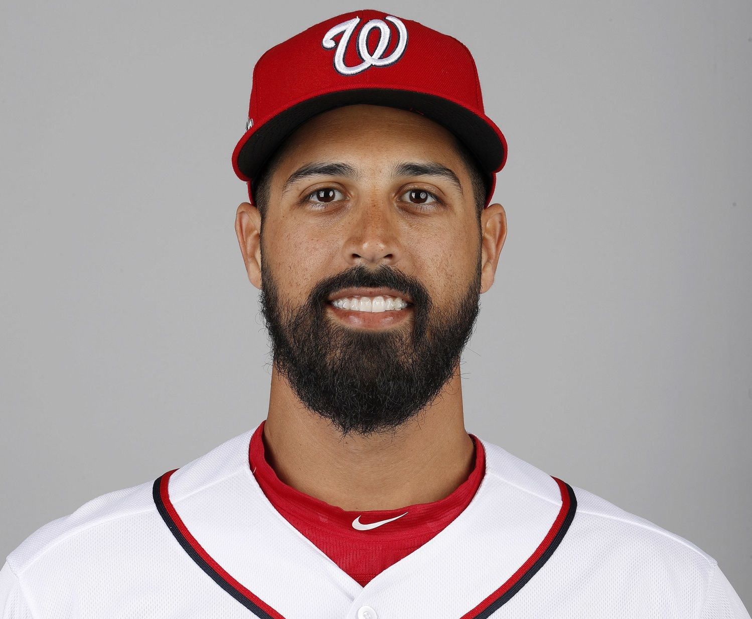 This is a 2018 photo of Gio Gonzalez of the Washington Nationals baseball team. This image reflects the Nationals active roster as of Feb. 22, 2018 when this image was taken. (AP Photo/Jeff Roberson)