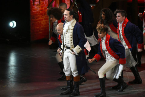 'Hamilton' fans swarm Kennedy Center site as tickets go on sale to public