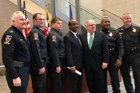 WATCH: Gov. Hogan praises 'excellent' Md. Public Safety Training Academy