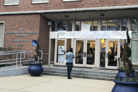 Howard University students protest after financial aid scandal exposed