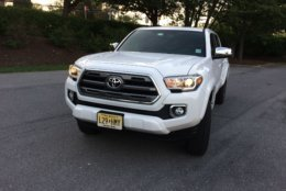 WTOP's car guy Mike Parris said if you want the best Tacoma for normal everyday use, the Limited trim level is the model for you. (WTOP/Mike Parris)