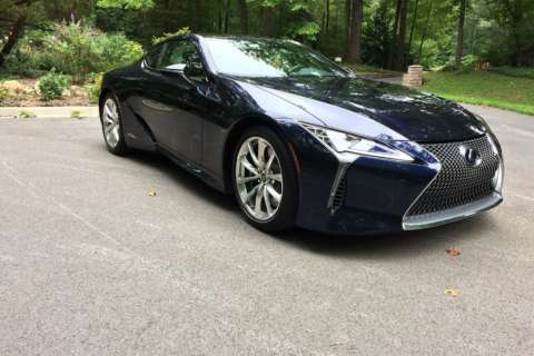 2018 Lexus LC 500h: A stylish sports coupe with fuel-saving hybrid