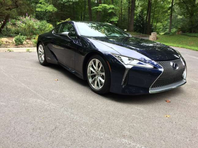 lexus sports car 2018. if you want a gas-saving hybrid with sporty luxury, wtop\u0027s car guy mike parris says the lexus lc 500h offers dose of fun, returns some serious mpg and has sports 2018 o