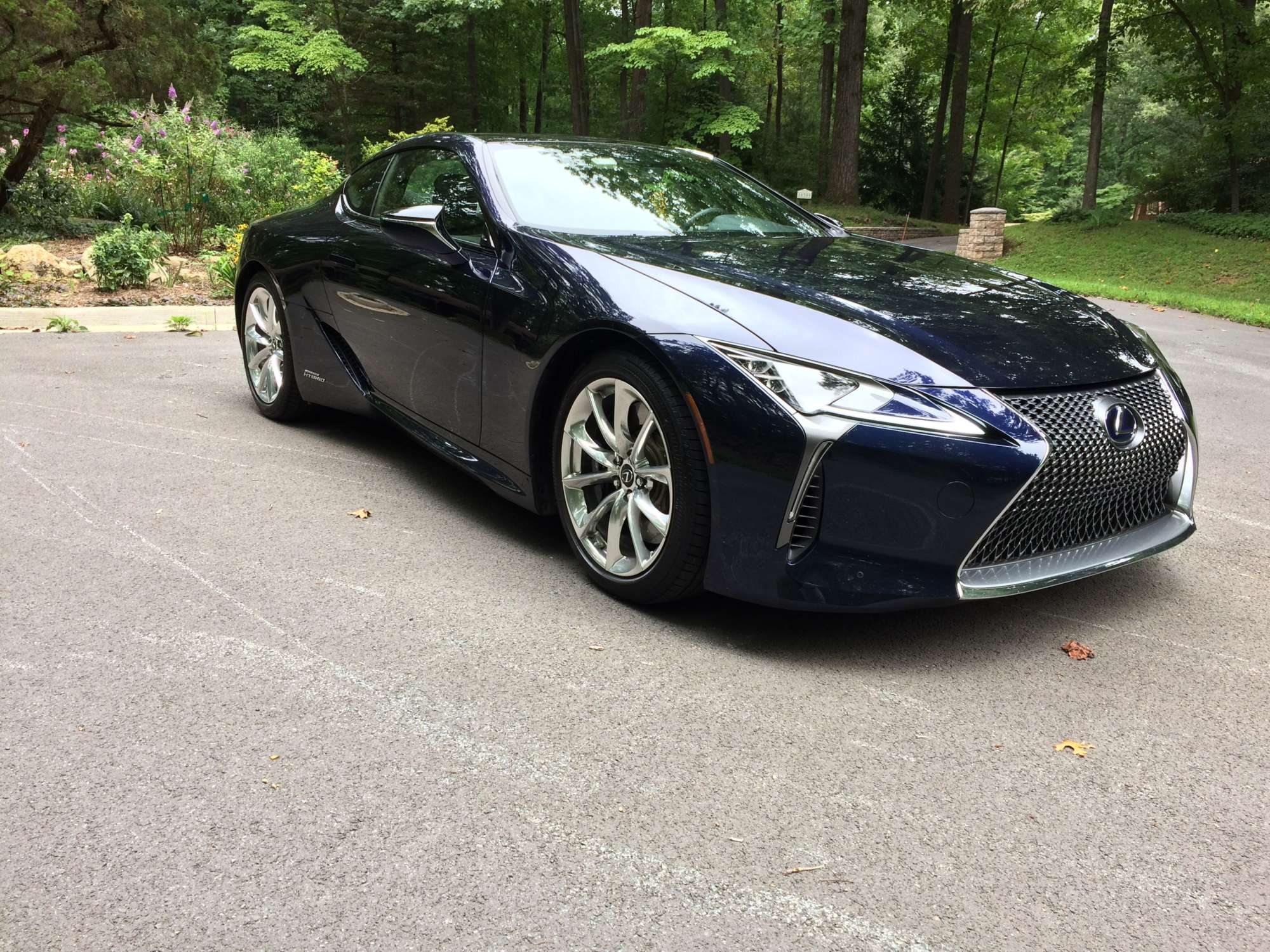 2018 Lexus Lc 500h A Stylish Sports Coupe With Fuel Saving Hybrid