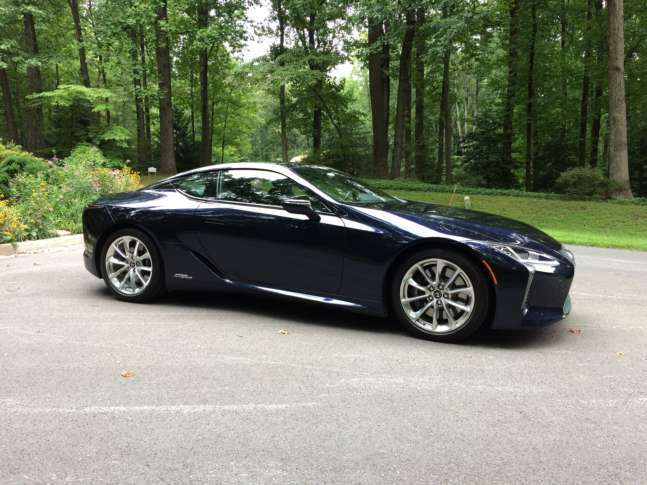 Starting At Around 96 000 The Hybrid Version Of Lc 500 Coupe Costs About 4 More Than Wtop Mike Parris