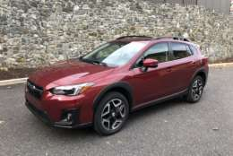 Parris tested the top-of-the-line Limited model with a $30,655price tag. He said compared to the first generation Subaru, it feels like this time the car actually commands the price. (WTOP/Mike Parris)