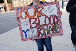 """A protester's sign at the March for Our Lives rally in D.C. (Courtesy Shannon Finney Photography/<a href=""""https://www.shannonfinneyphotography.com/index"""" target=""""_blank"""" rel=""""noopener noreferrer"""">shannonfinneyphotography.com</a>)"""