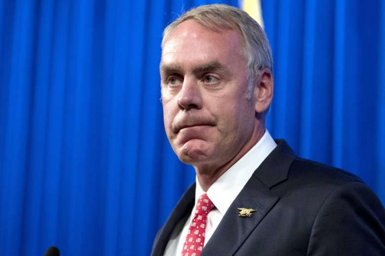 Interior Department to spend $139000 on new doors for Ryan Zinke's office
