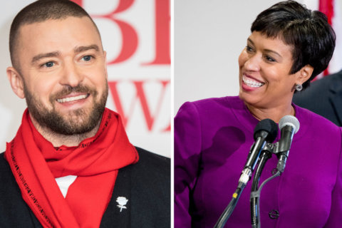 DC Mayor Bowser, Justin Timberlake unite to promote 'March For Our Lives'