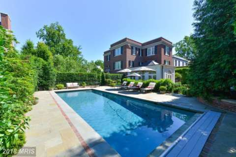 $9M Kalorama home is DC area's most expensive February sale