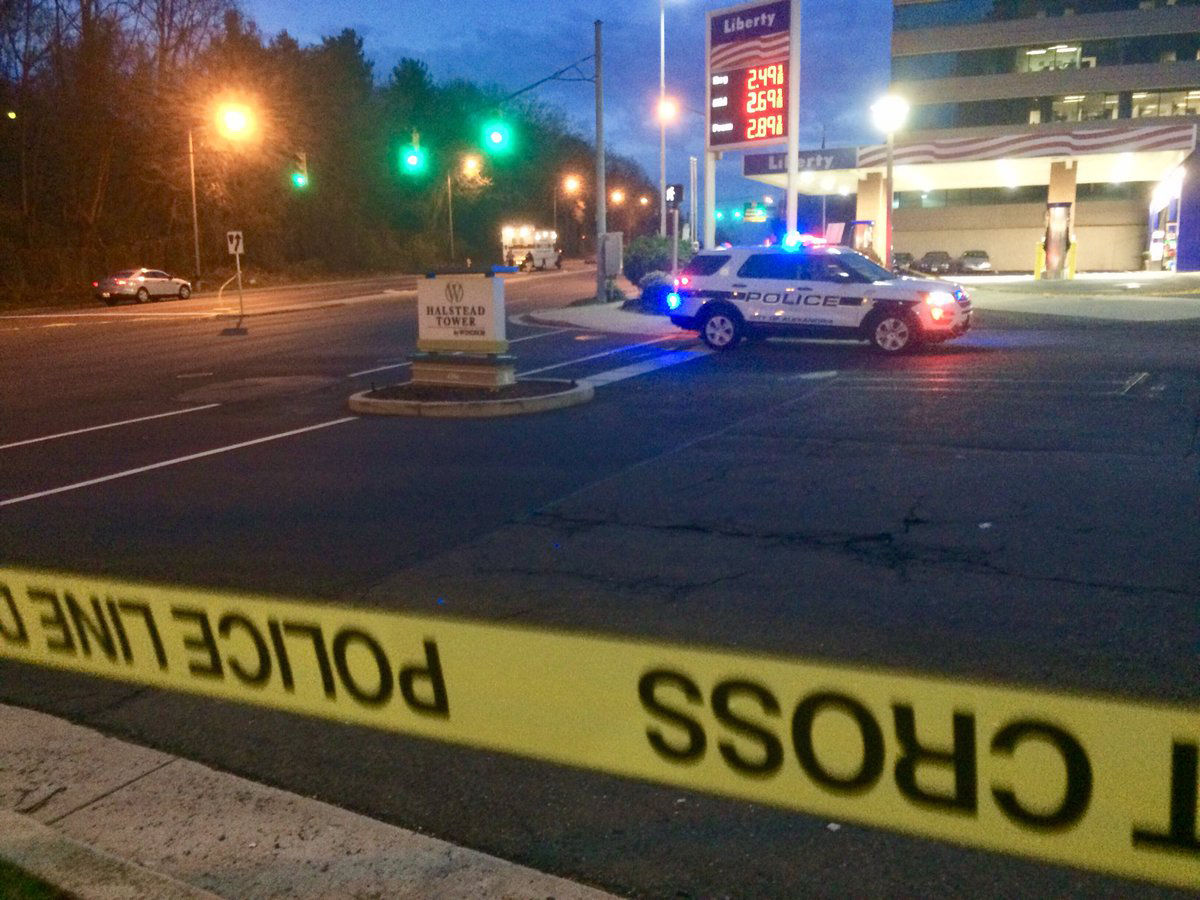 Police in Alexandria said they hope to have the closures on King Street lifted before 8 a.m. (WTOP/Nick Iannelli)