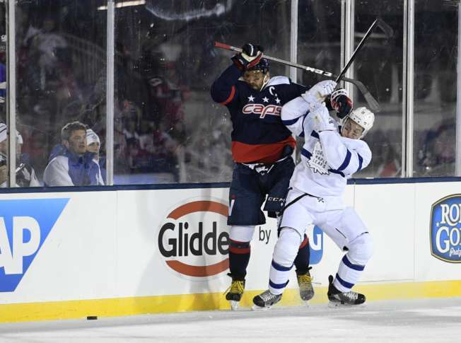 d0ab6f8af12 Maple Leafs Capitals Hockey 14202 Washington Capitals left wing Alex  Ovechkin (8)