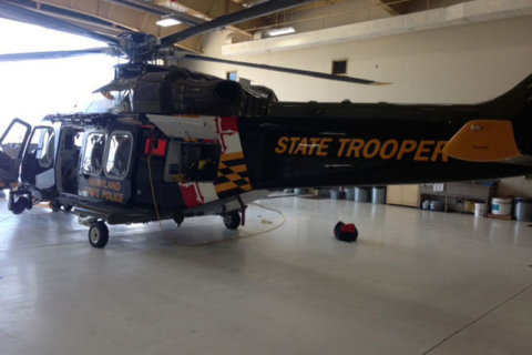 Md. State Police use helicopter in Rocky Gap Run rescue