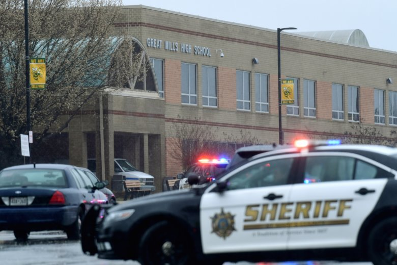 Sheriff official: 3 injured in Maryland high school shooting