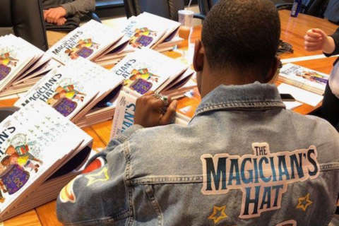 Super Bowl champion joins rank of authors with children's book