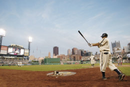 PNC Park, home of the Pittsburgh Pirates, offers a skyline view of downtown Pittsburgh. It comes in at No. 14 on the list with an average cost of $72.50. File. (AP Photo/Keith Srakocic)