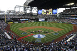Even the cheapest tickets are expensive at Safeco Field, the home of the Seattle Mariners. The average cost is $92.83. File. (AP Photo/Ted S. Warren)