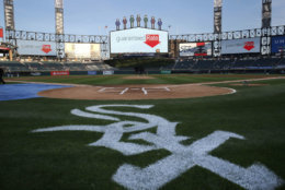 """Guaranteed Rate Field, formerly known as U.S. Cellular Field and before that known as """"new"""" Comiskey Park, comes in at No. 21. It costs $62.33 to see the Chicago White Sox at home. File. (AP Photo/Charles Rex Arbogast)"""