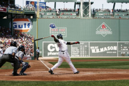 Fenway Park, seen here in 2009, is the oldest park in the majors but only No. 3 on the list. The average cost is $91 to see the Red Sox. File. (AP Photo/Winslow Townson)