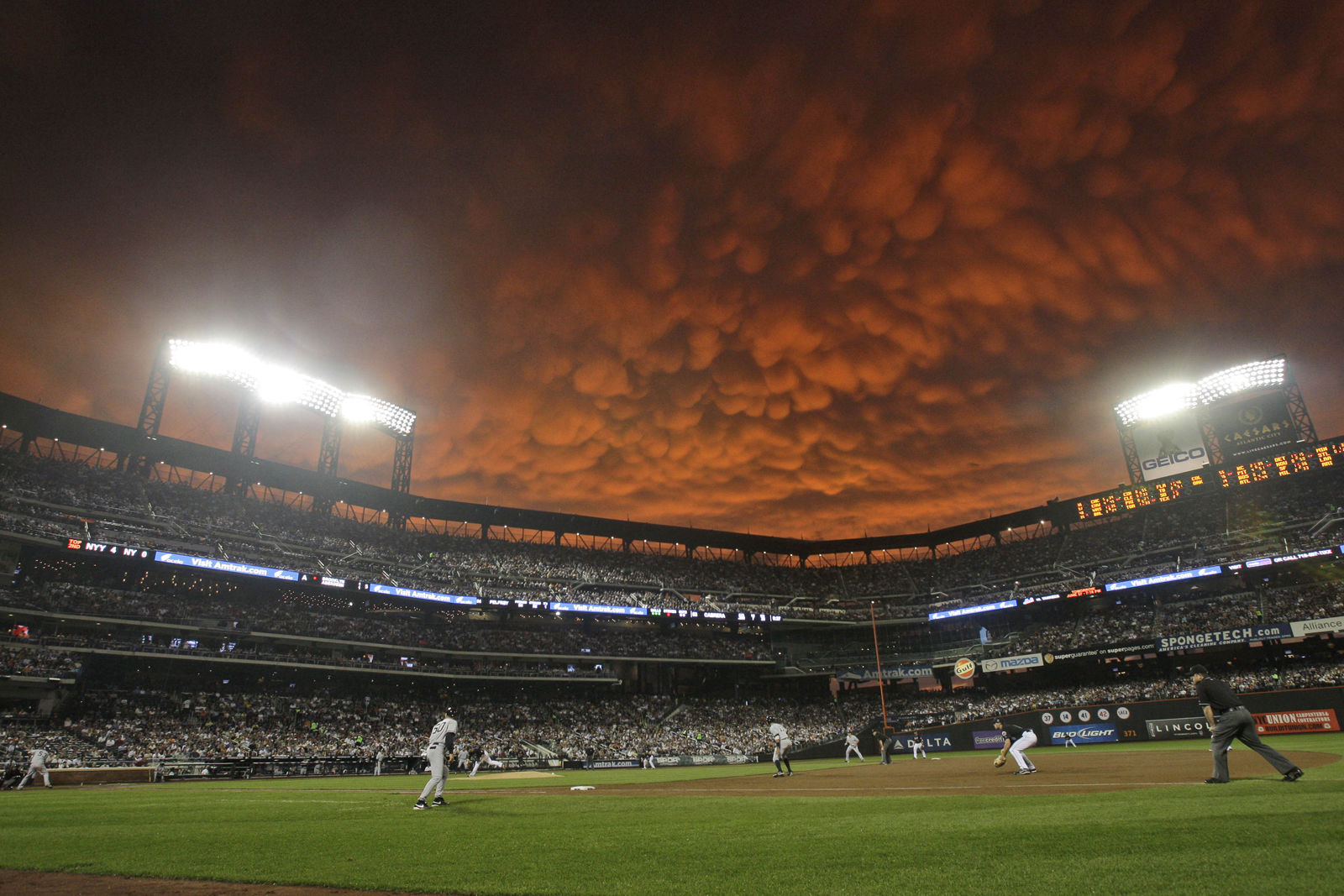 You can step right up and meet the Mets for an average cost of $83.67. That puts Citi Field at No. 4 on the list. File. (AP Photo/Frank Franklin II)