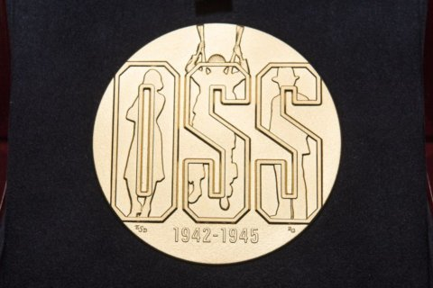 Historic spy agency awarded Congressional Gold Medal in DC