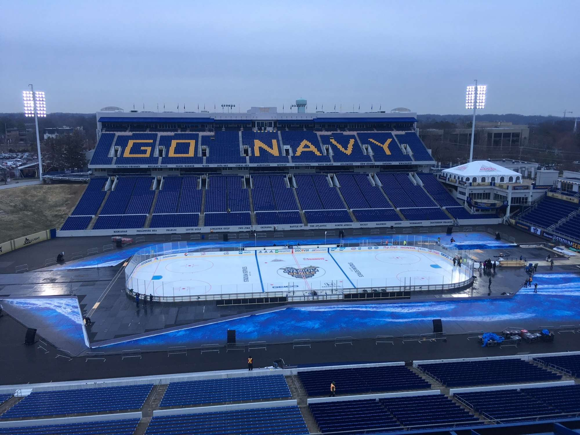 Your guide to Caps Stadium Series game at Navy  113140615719