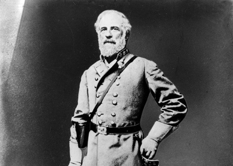 Confederate Gen. Robert E. Lee poses in his uniform during the American Civil War, 1861-65.  (AP Photo)